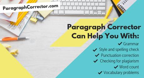 free online paragraph corrector app